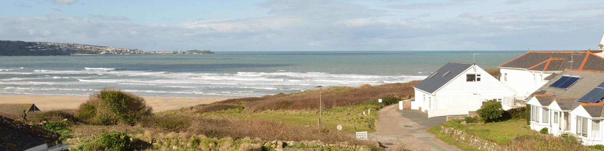 Self Catering Portreath - Bay View Apartment