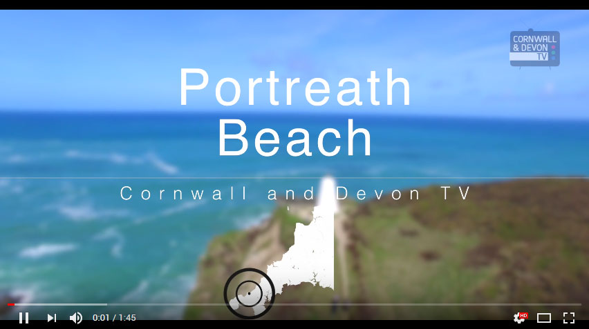 Video Thumbnail - Portreath Beach